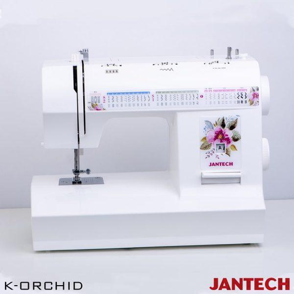 چرخ خیاطی جانتک مدل K-ORCHID بدونه پایه و سوزن نخ کن