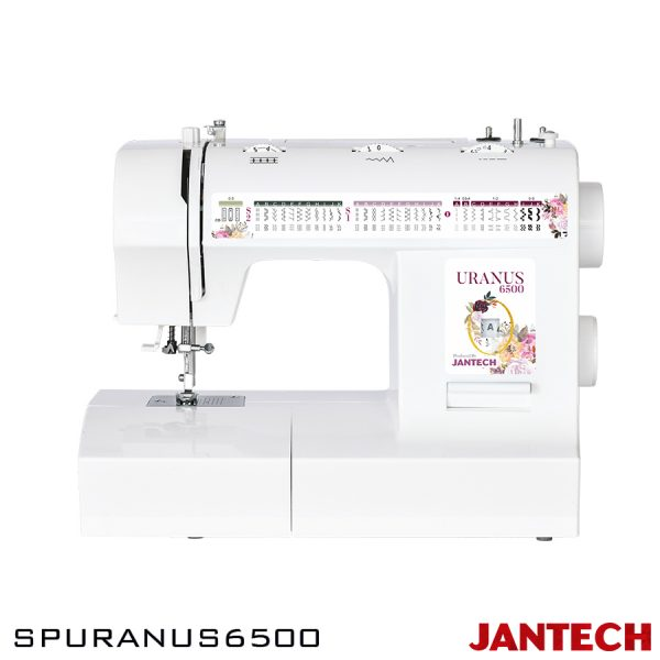 چرخ خیاطی جانتک مدل SPURANUS6500 با پایه و سوزن نخ کن