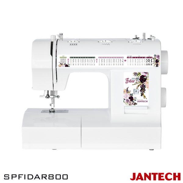چرخ خیاطی جانتک مدل SPFidar800 با پایه و سوزن نخ کن